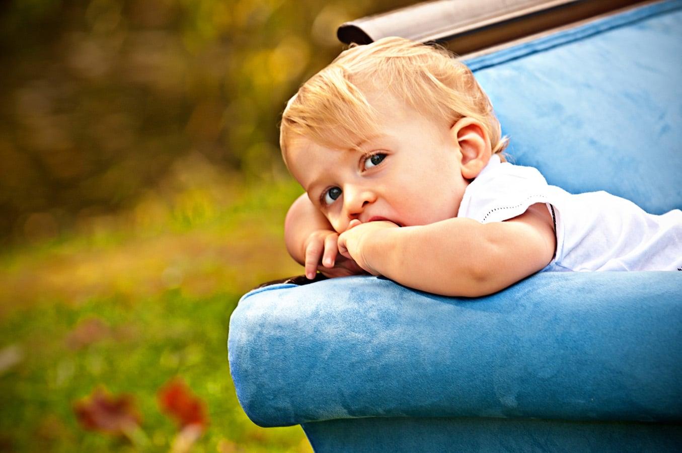 baby, portrait, sofa, outdoor, natural light, Northern VA