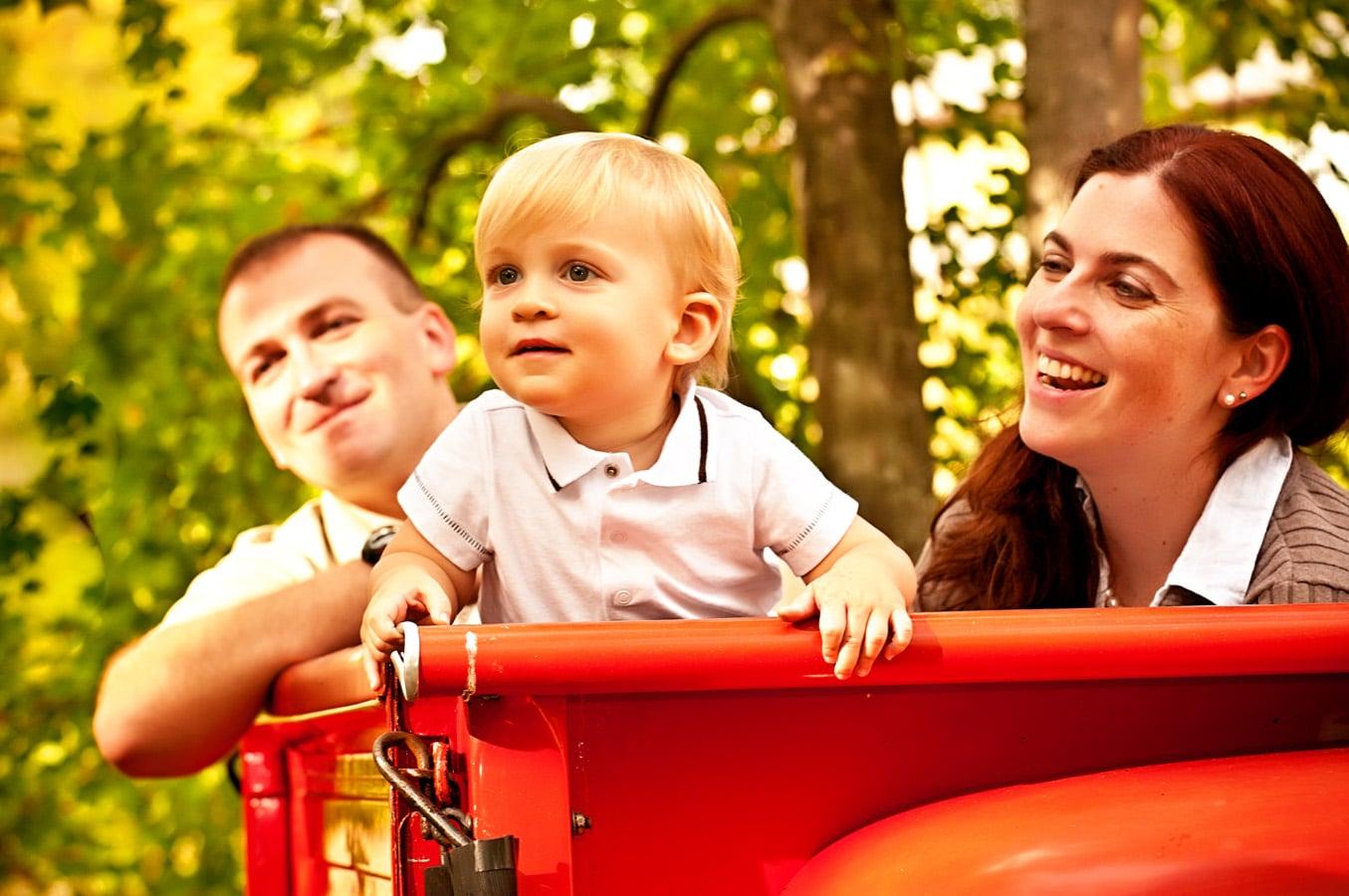 family portrait, outdoor, natural light, Northern VA
