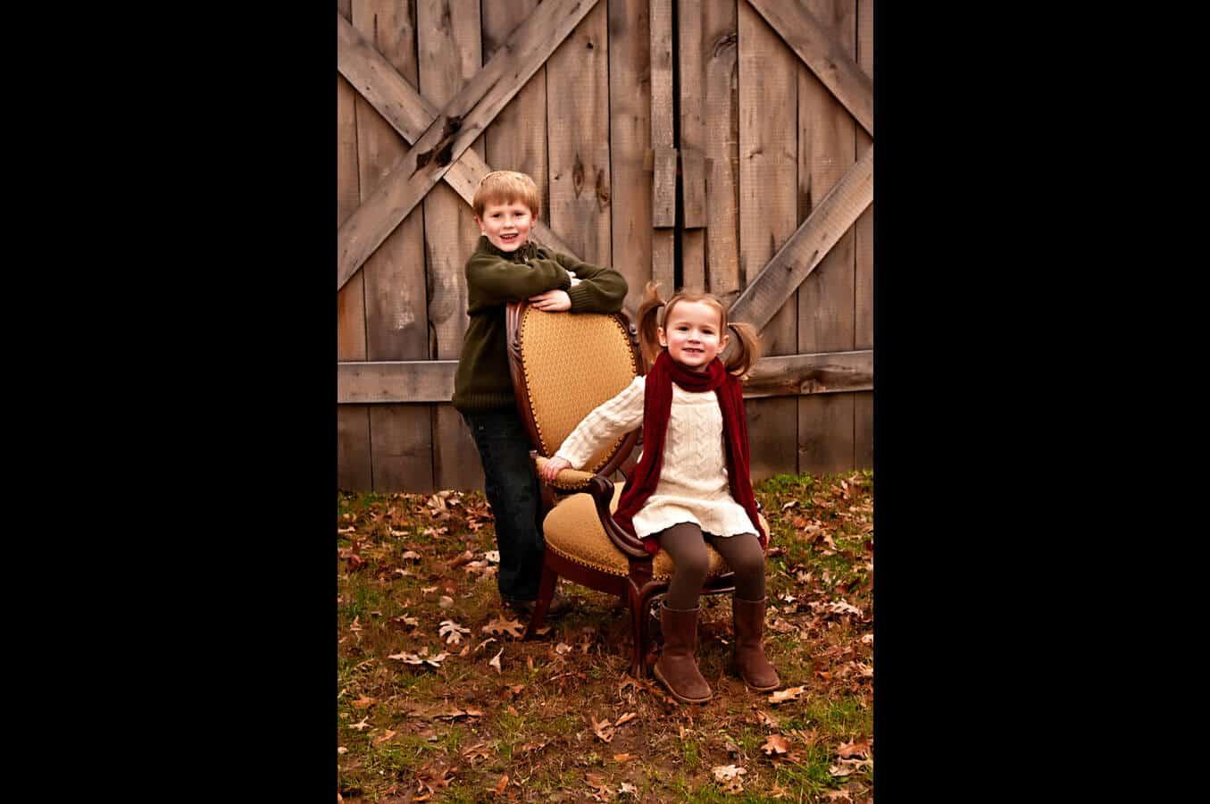 children, portrait, outdoor, autumn, natural light, Northern VA