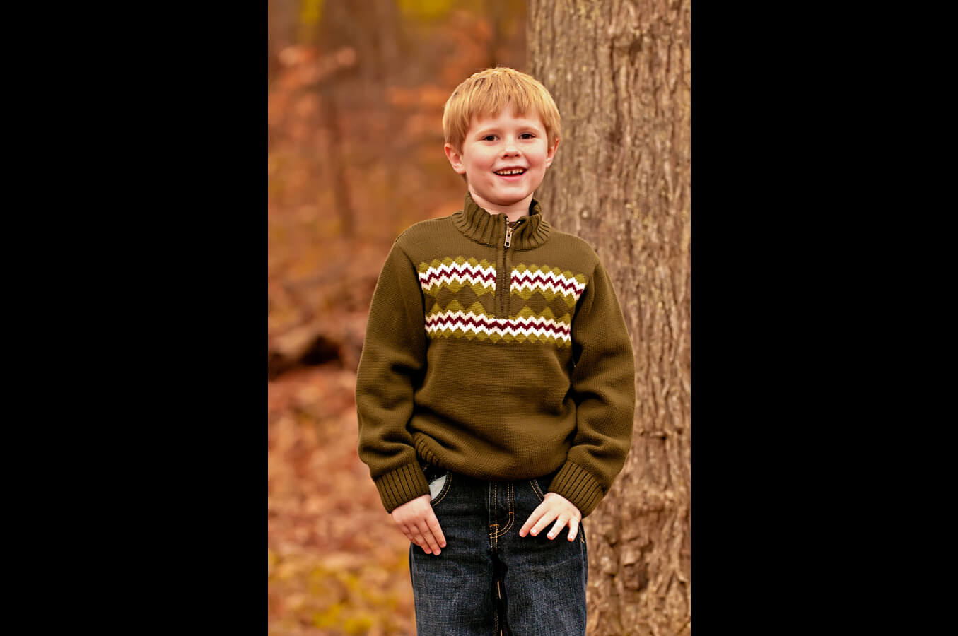 child, portrait, outdoor, autumn, natural light, Northern VA