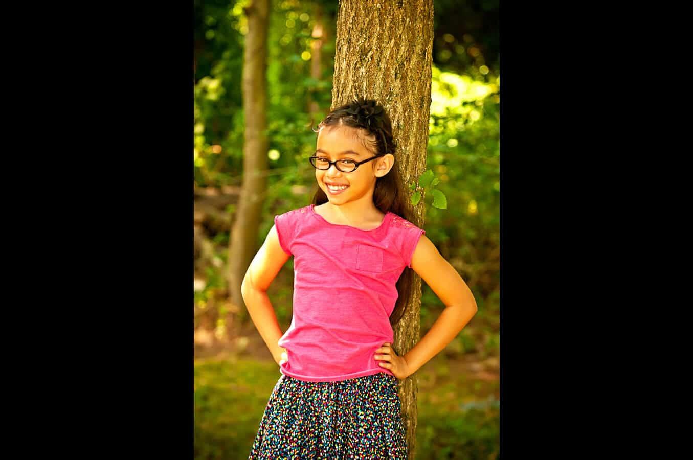 child, portrait, outdoor, natural light, Northern VA