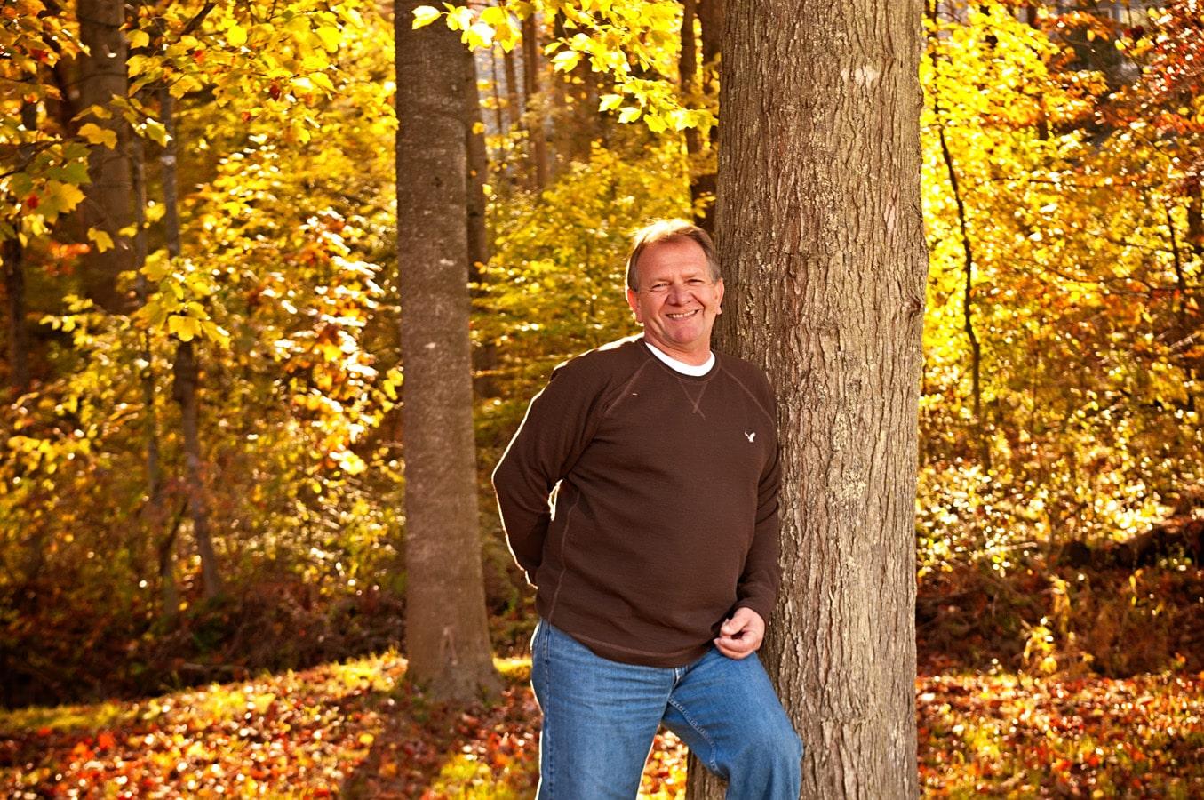 portrait, outdoor, natural light, Northern VA