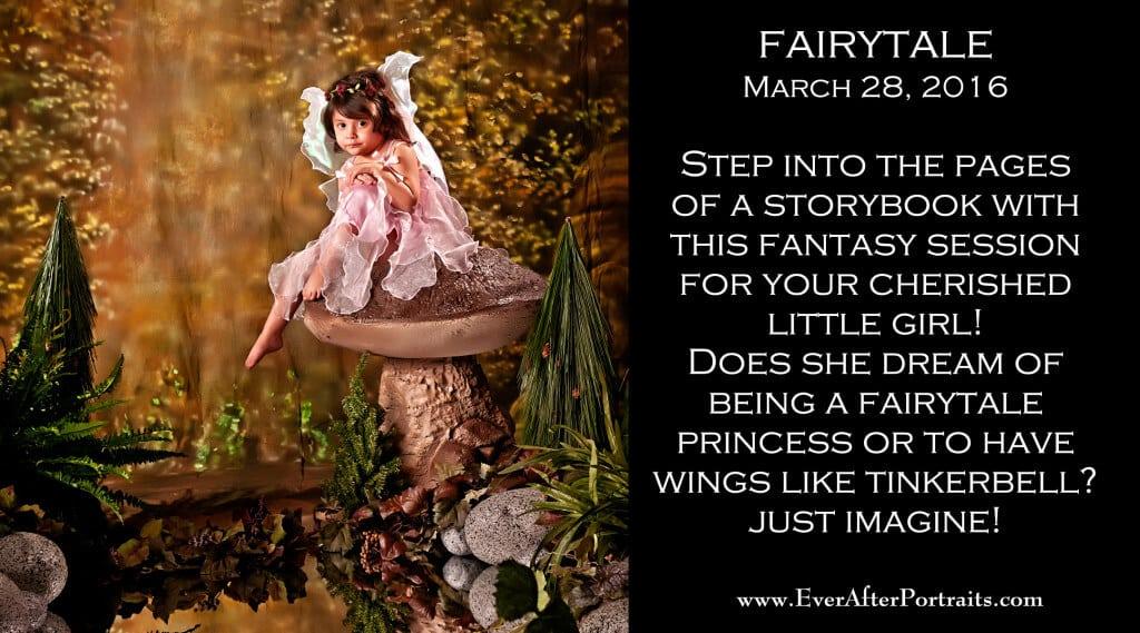 Fairytale Portrait Photography Studio Session