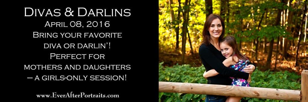 Divas & Darlins Mother Daughter Portrait Photography Studio Outdoor Session