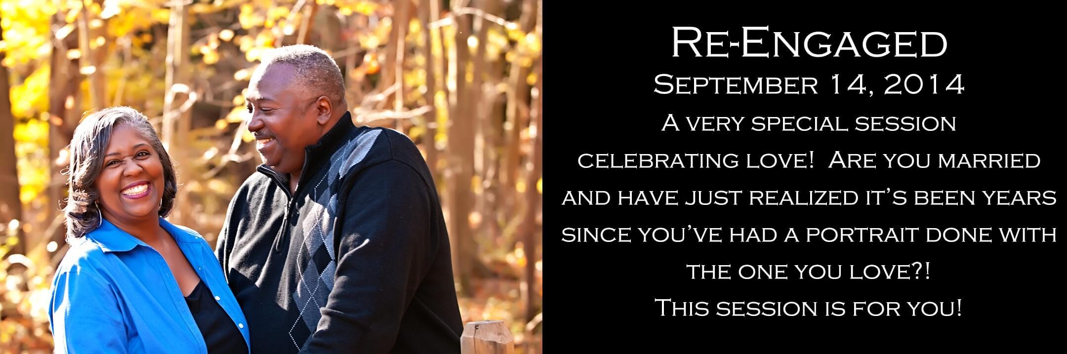 Re-Engaged Portrait Photography Studio Leesburg VA