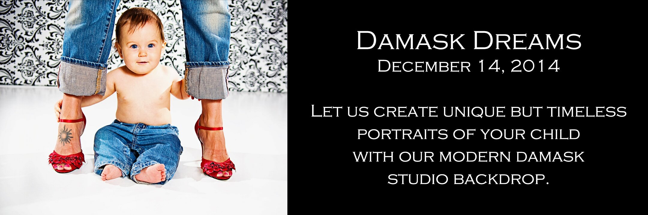 Special Children's Portrait Photography on Damask