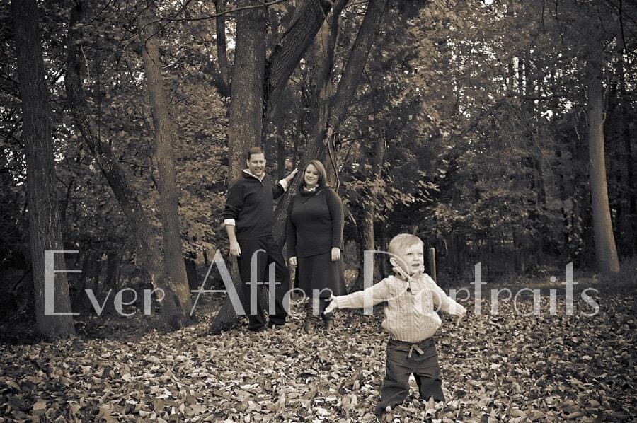 Family autumn portraits