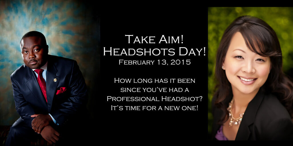 Professional headshots portrait session