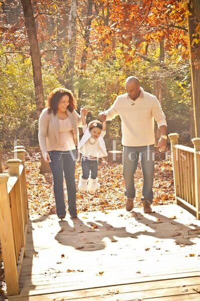 family photos Healthy family exercise