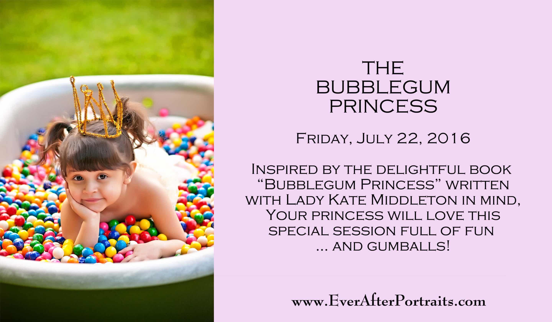 Bubblegum Princess Portrait Session Portrait Photography Studio   Leesburg VA  