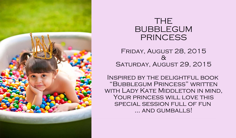 Bubblegum Princess Portrait Session