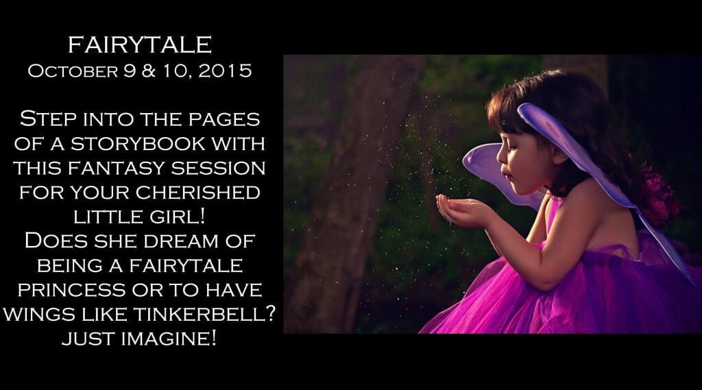 children photography Fairytale Portrait Session Outdoors