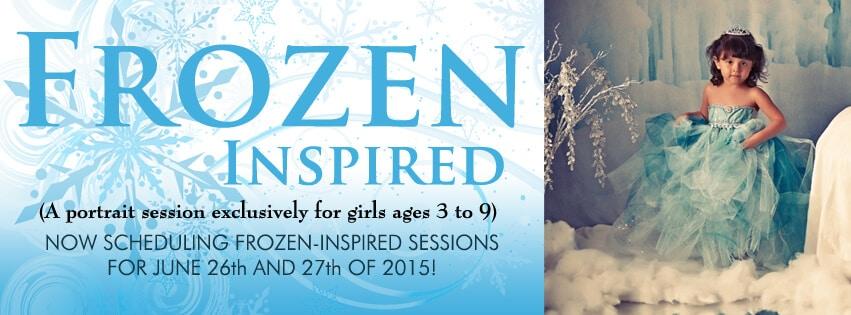 Frozen-Inspired Portrait Session