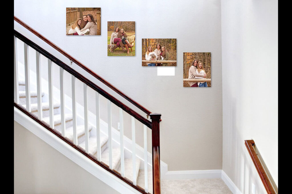photography websites Stairway Family Wall Art Collection