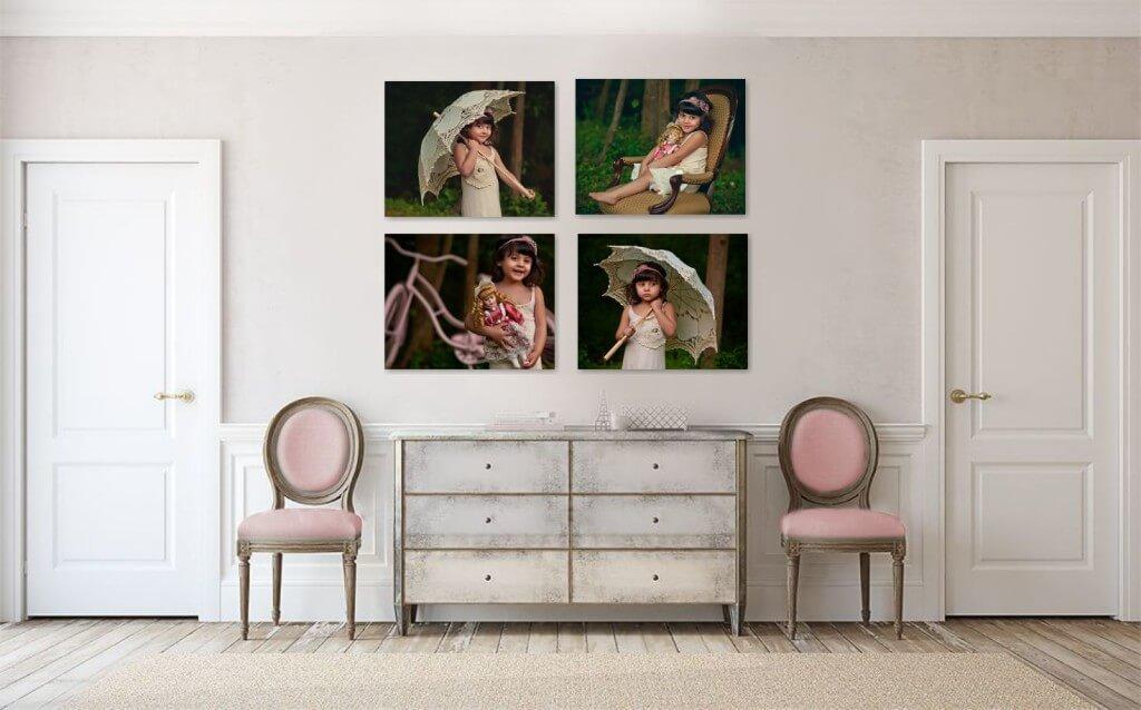 Dollcake Vintage Wall Art Portrait Photography Studio   Leesburg VA  