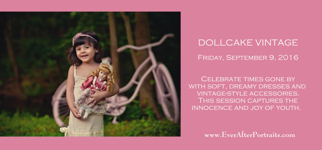 Dollcake Vintage Portrait Session Portrait Photography Studio   Leesburg VA  