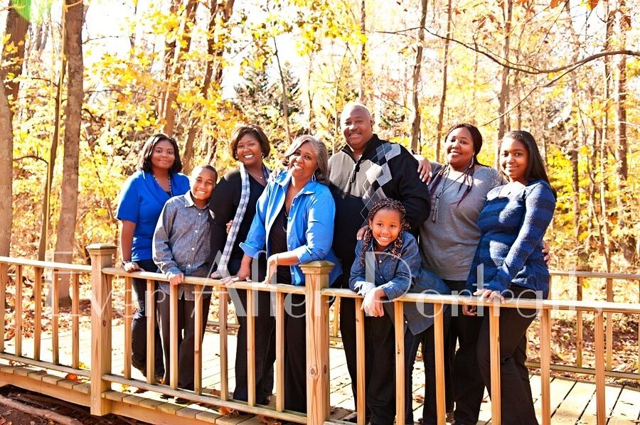 Multigenerational Outdoor Photo Session