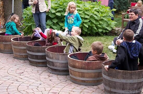 Kids at Northern VA Wineries