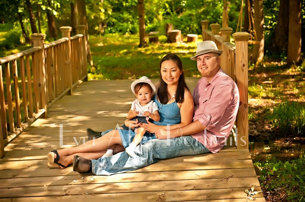 Family Portraits in our Outdoor Studio