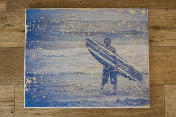 family photography Printing photos on wood