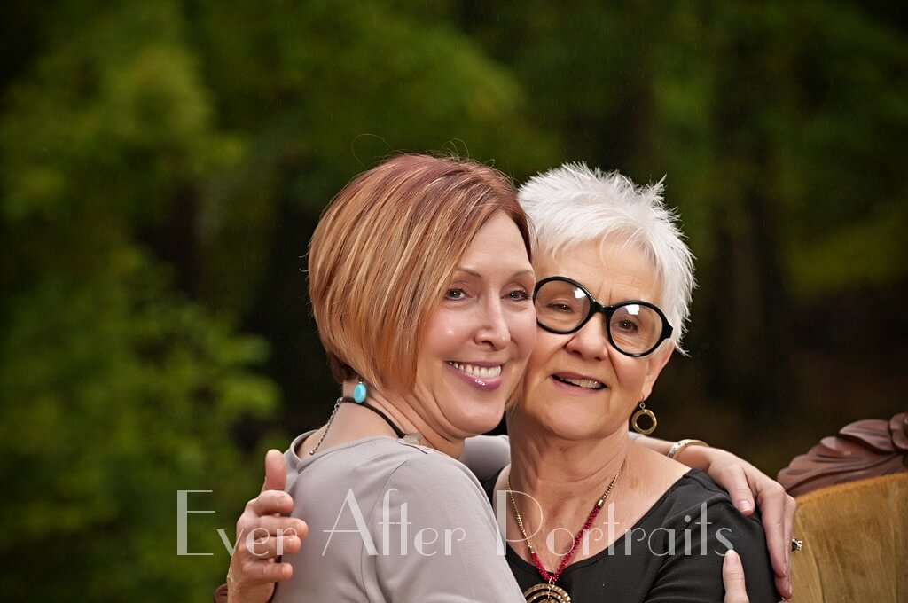 photographer Portraits of Mother and Daughter Holding each other