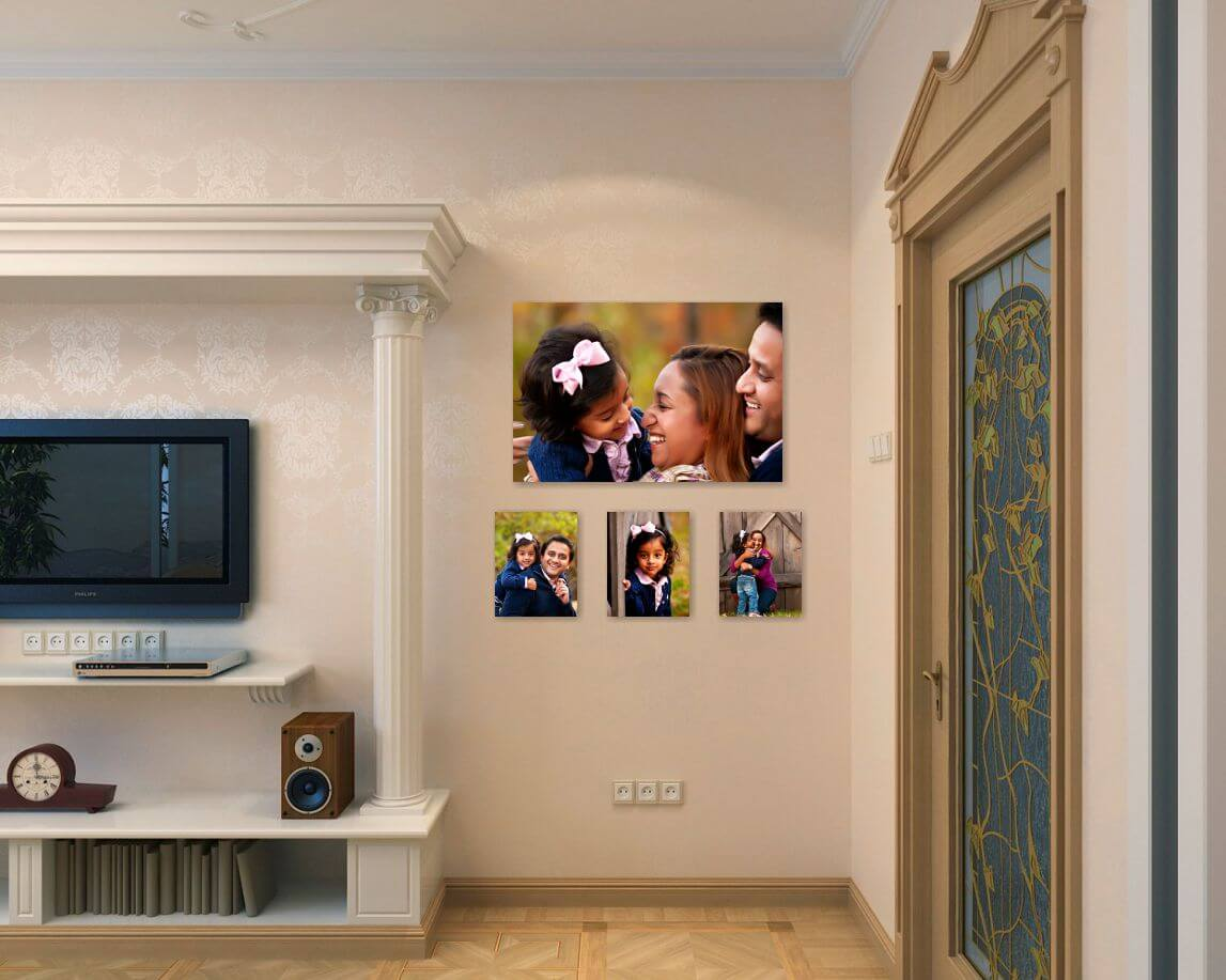 family portrait photography The Perfect Space for Wall Art