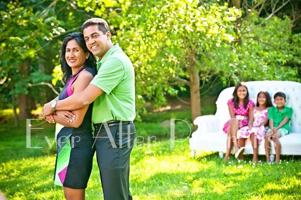family photo Outdoor Portraits Family Photographer Northern VA