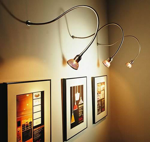 wall picture lights