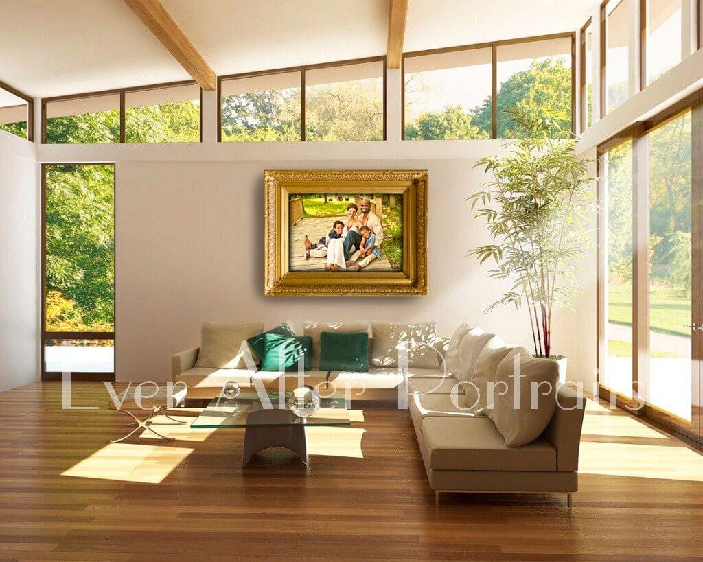 Masterpiece Framing Family Portrait Family Photographer