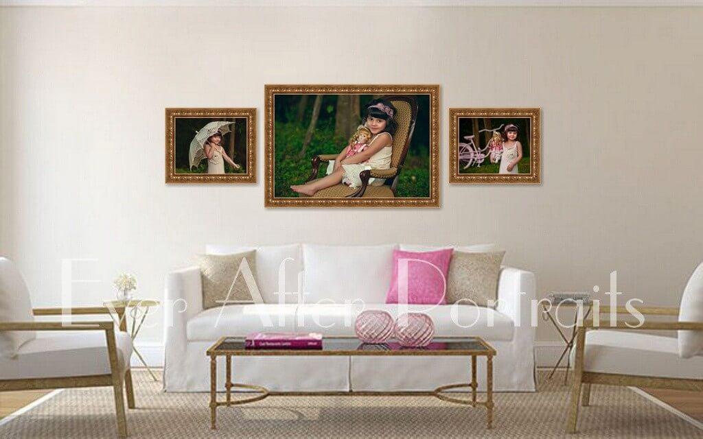 Northern Virginia Family Portraits Standard Framing