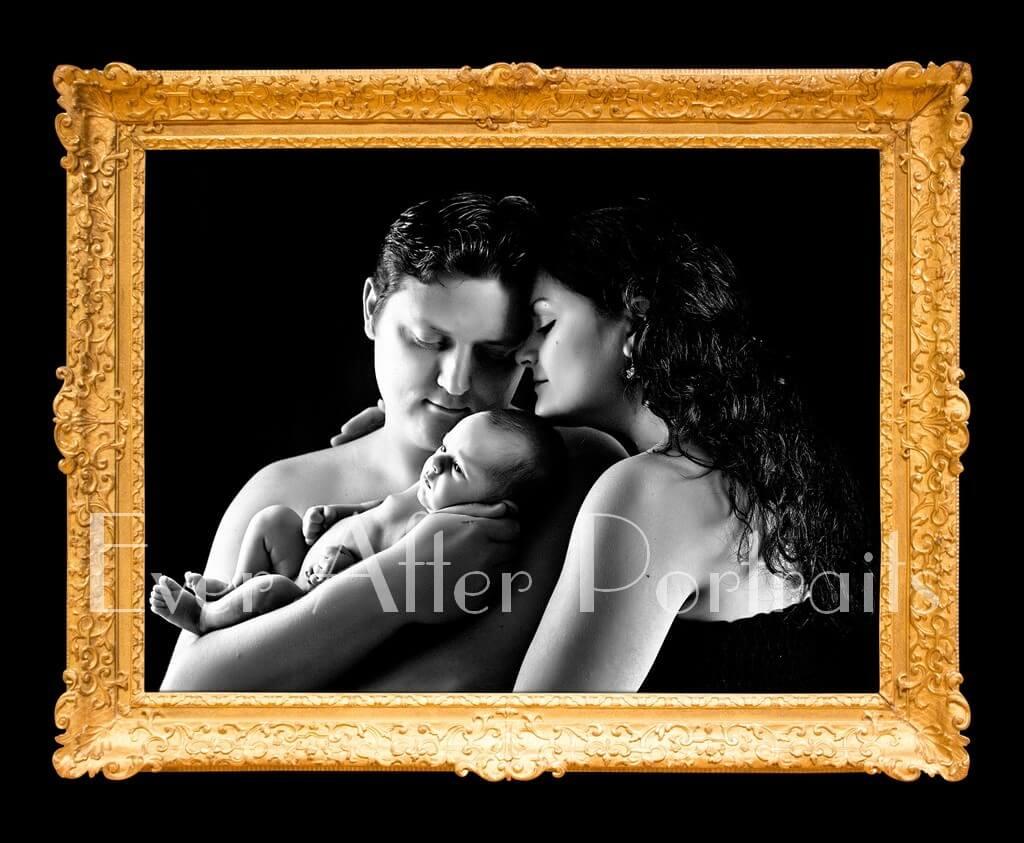 Newborn family photographer Northern VA