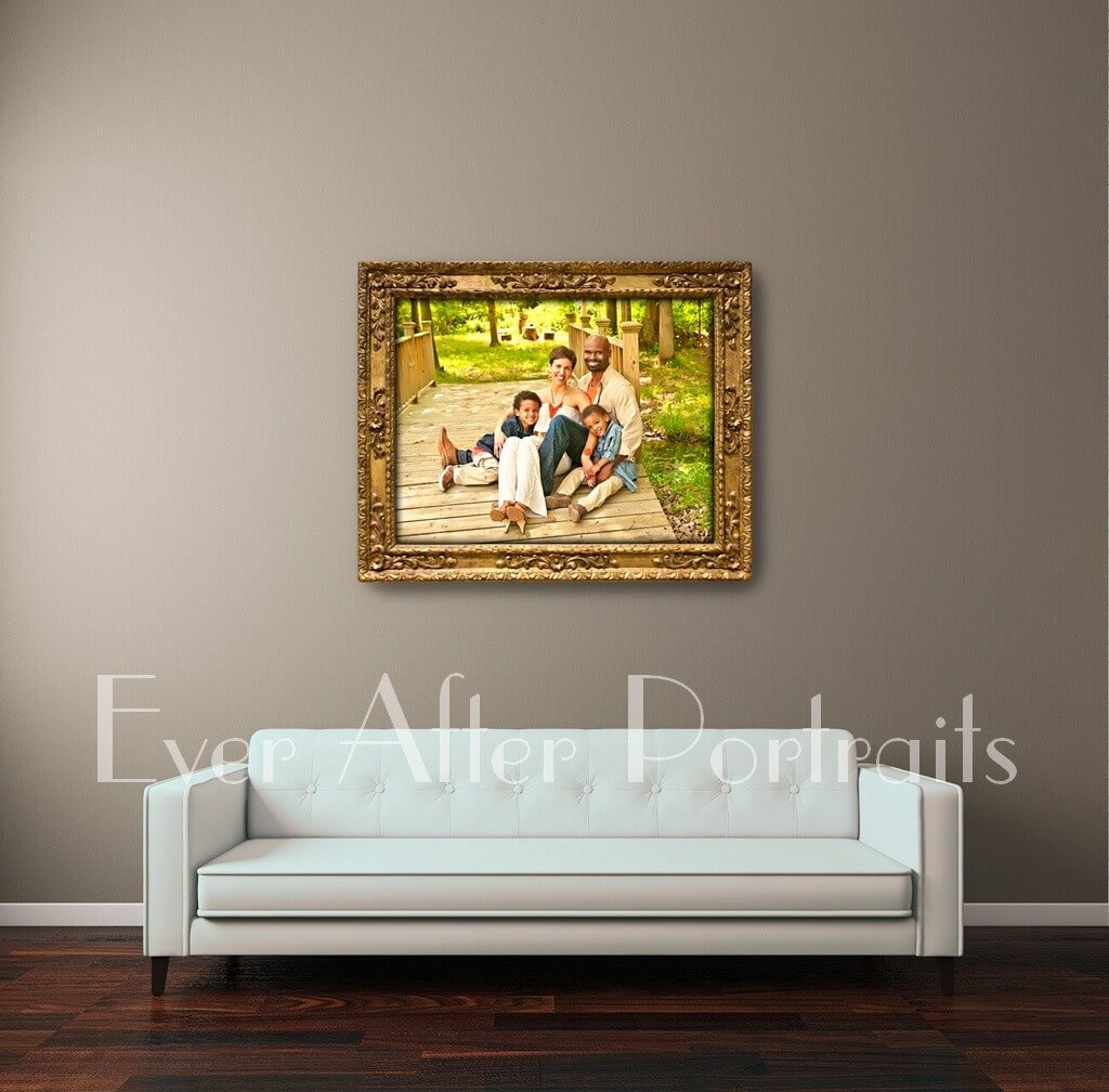 custom portrait art leesburg va family photographer