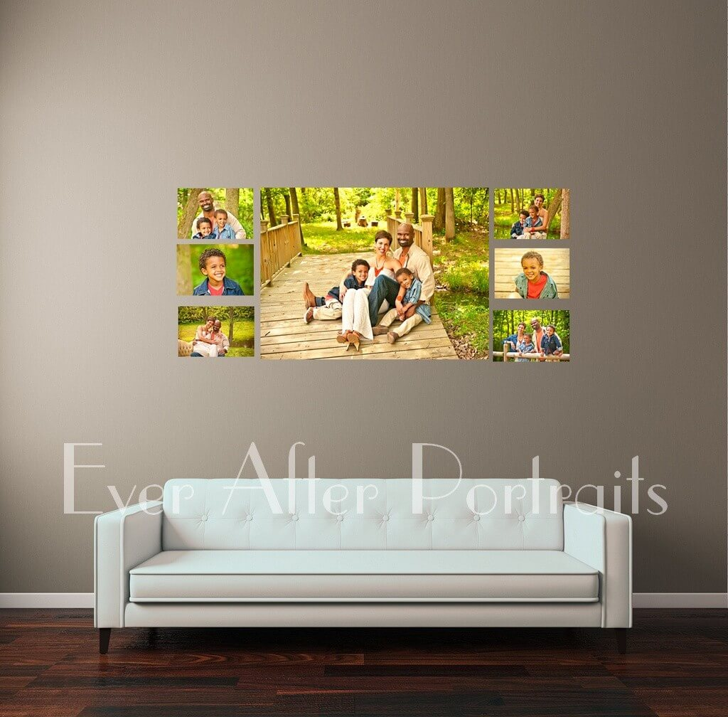 custom portrait art northern va family photographer