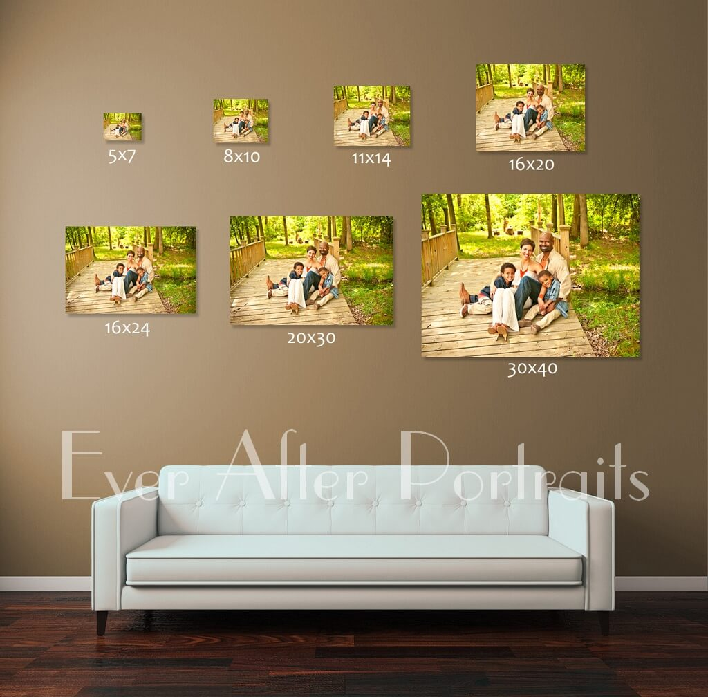 Why Size Matters for Wall Art | Northern VA Family Photographer