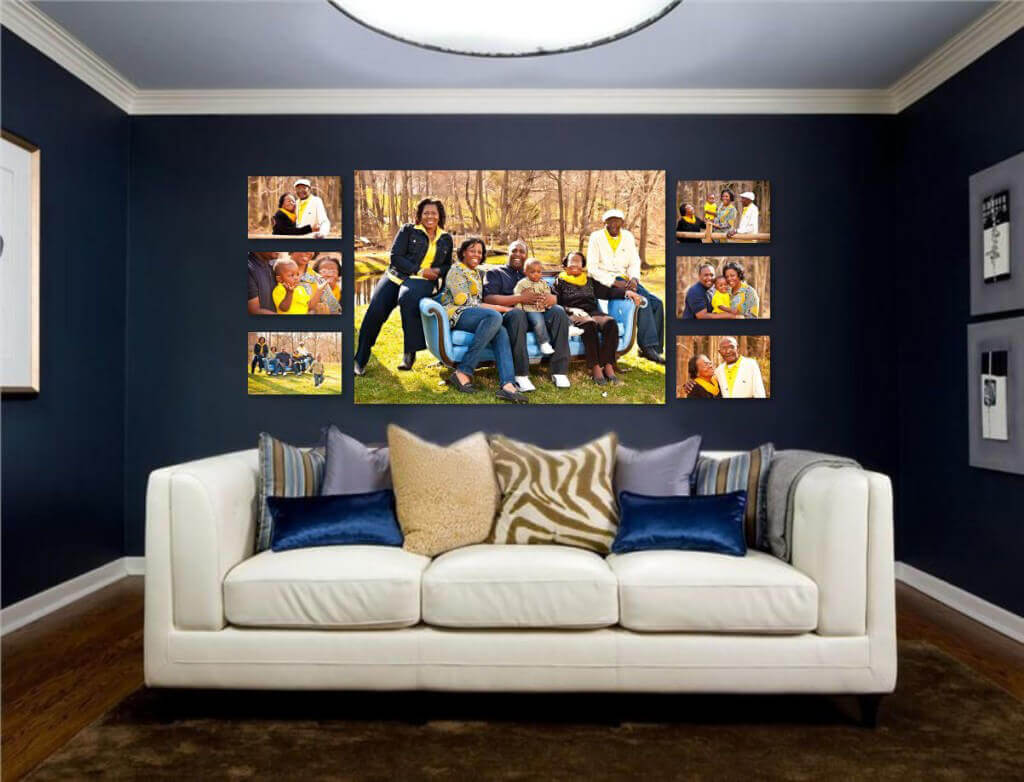 professional photographer gallery wrap wall collection