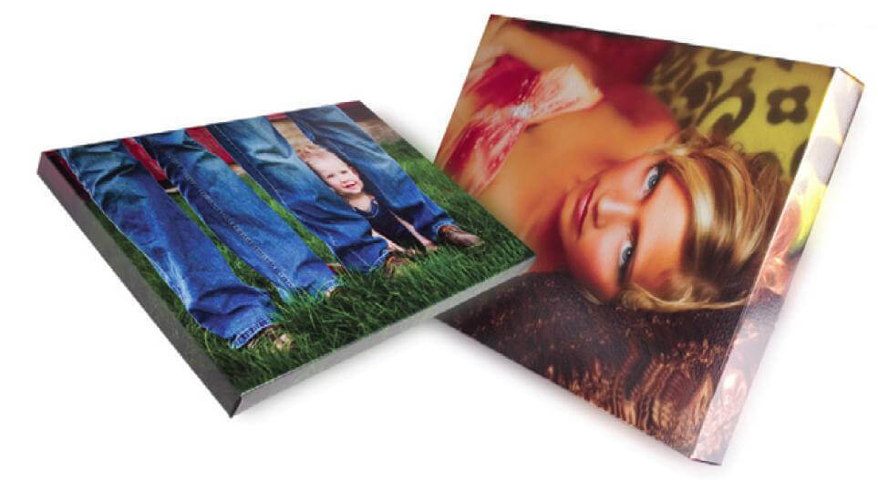 professional photographer gallery wrap sample