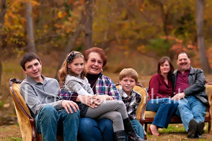 family pictures ashburn village va