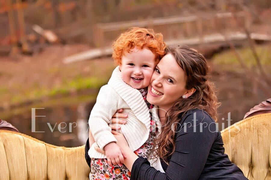 family photographer sterling va redhead