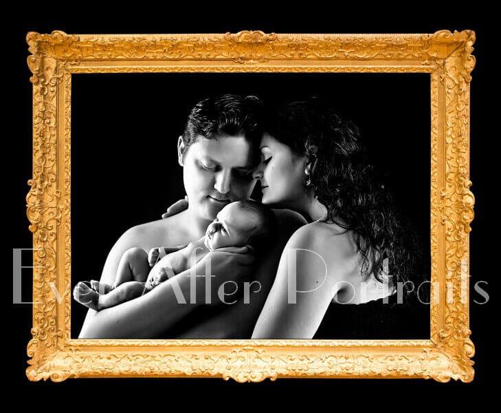 newborn family pictures ashburn village va