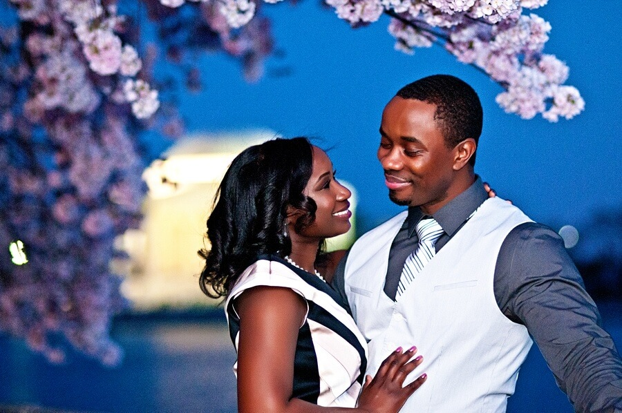 Nina & Matthew's D.C. Cherry Blossom Engagement