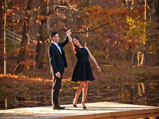Griselda & Christian, Fall Engagement