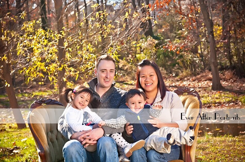 Danny Family, Fun in our Outdoor Portrait Park | Northern VA Family Photographer