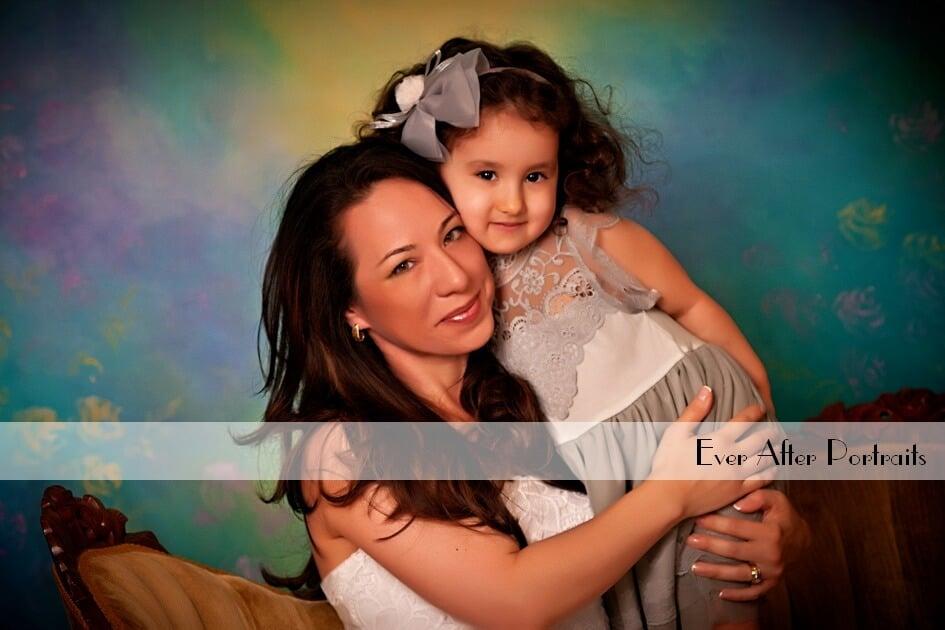 Kaui & Leila, Mother/Daughter Portrait Session   Northern VA Family Photographer