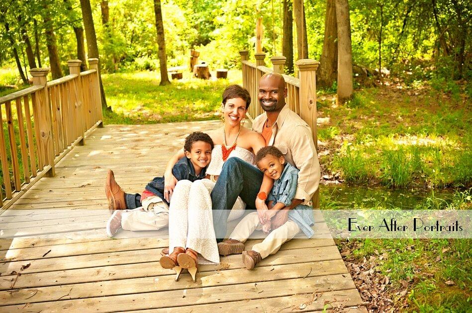 Inside or Outside Portrait Session? | Northern VA Family Photographer