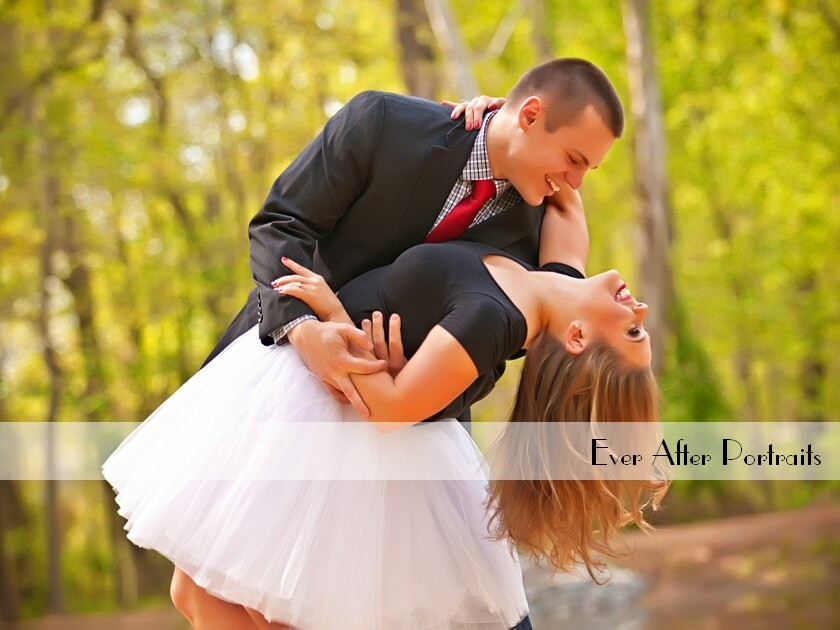Ashley & Brian, Wall Art from Their Engagement in the Park | Northern VA Family Photographer