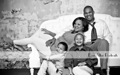 How to Dress for a Black and White Portrait Session | Northern VA Family Photographer
