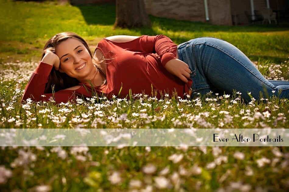 Isabella, Wildflower Senior Session | Northern VA Family Photographer