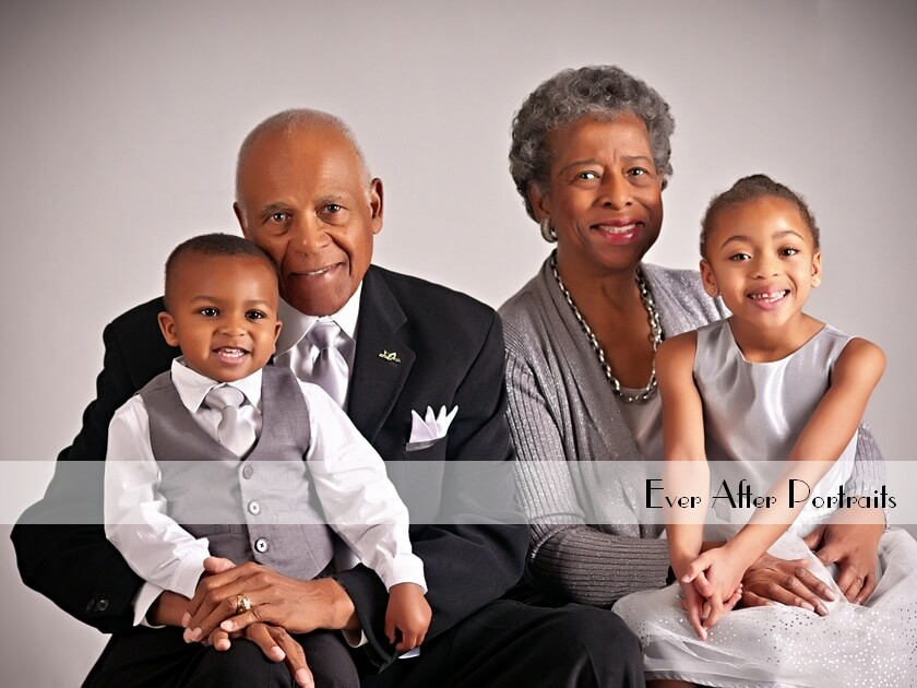 A Session with the Grandparents! | Northern VA Family Photographer