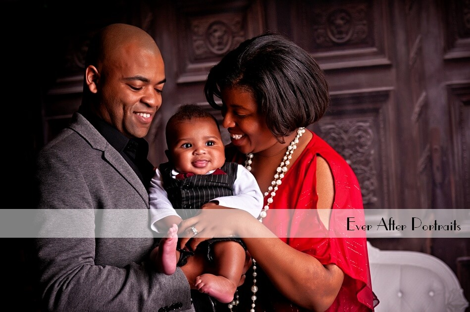 Join us in our WARM Studio for a Family Portrait Session in January! | Northern VA Family Photographer